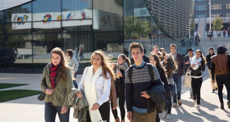Studenten campus EUR Eric Fecken